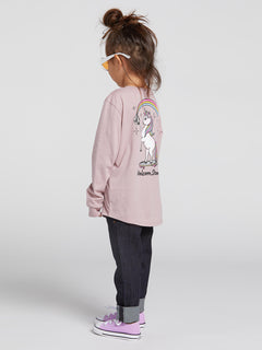 Little Girls Made From Stoke Long Sleeve - Faded Mauve (B35319L0_FMV) [5]