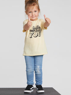 Little Girls Last Party Tee - Dust Yellow (B35319L1_DYL) [1]