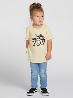 Little Girls Last Party Tee - Dust Yellow (B35319L1_DYL) [F]