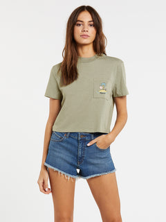 Island Pocket Tee - Green Tea (B35320H0_GRT) [F]