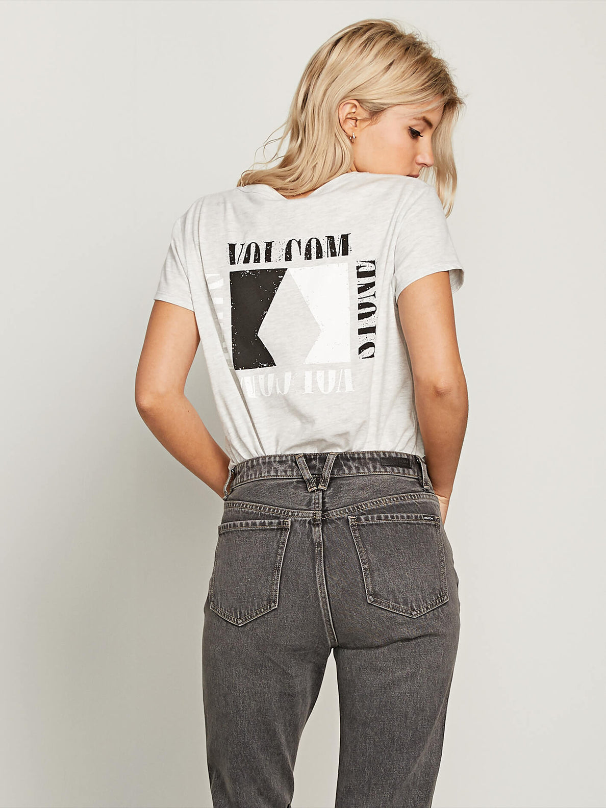 Easy Babe Rad 2 Tee In MISSING Back View
