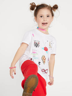 Little Girls Last Party Tee - White (B35419L0_WHT) [1]