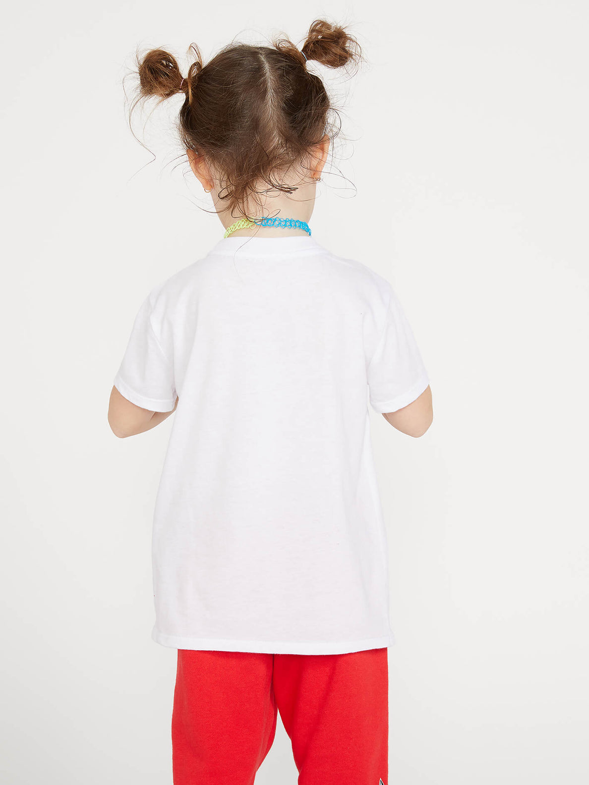 Little Girls Last Party Tee - White (B35419L0_WHT) [B]
