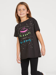 Big Girls Last Party Tee - Black (B35419Y0_BLK) [F]