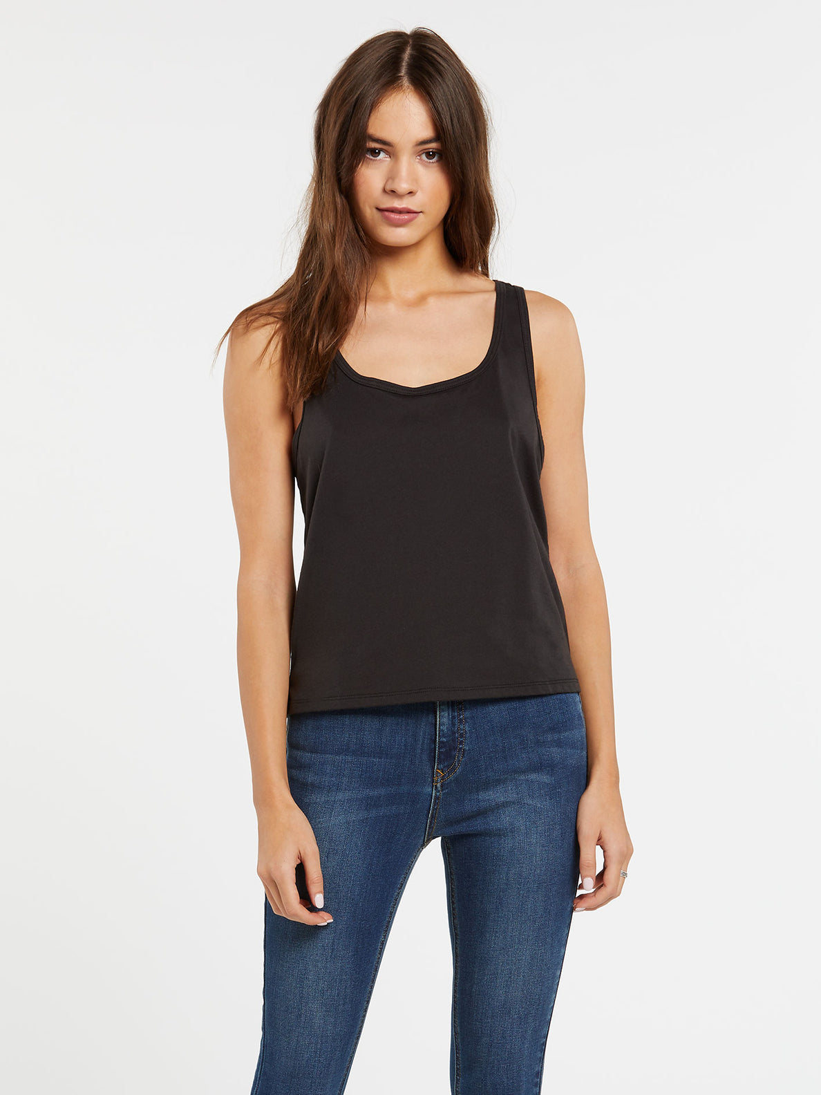 Volcom Womens Good to Be You Allover Cami Tank