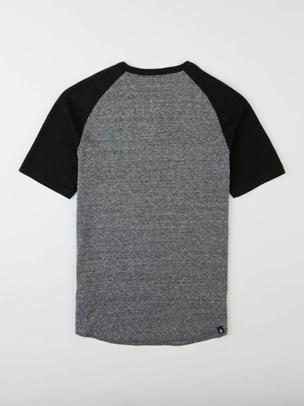 Big Boys Banks Colorblock Henley In Black, Back View