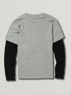 Big Boys Grand Two Fer - Heather Grey (C0341930_HGR) [B]