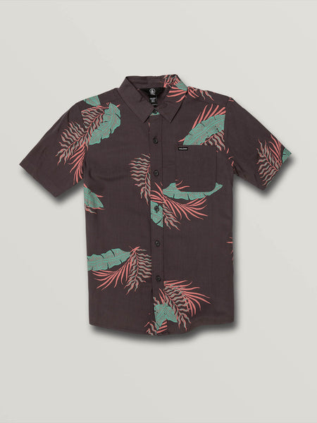 Big Boys Bermuda Short Sleeve - Dark Charcoal