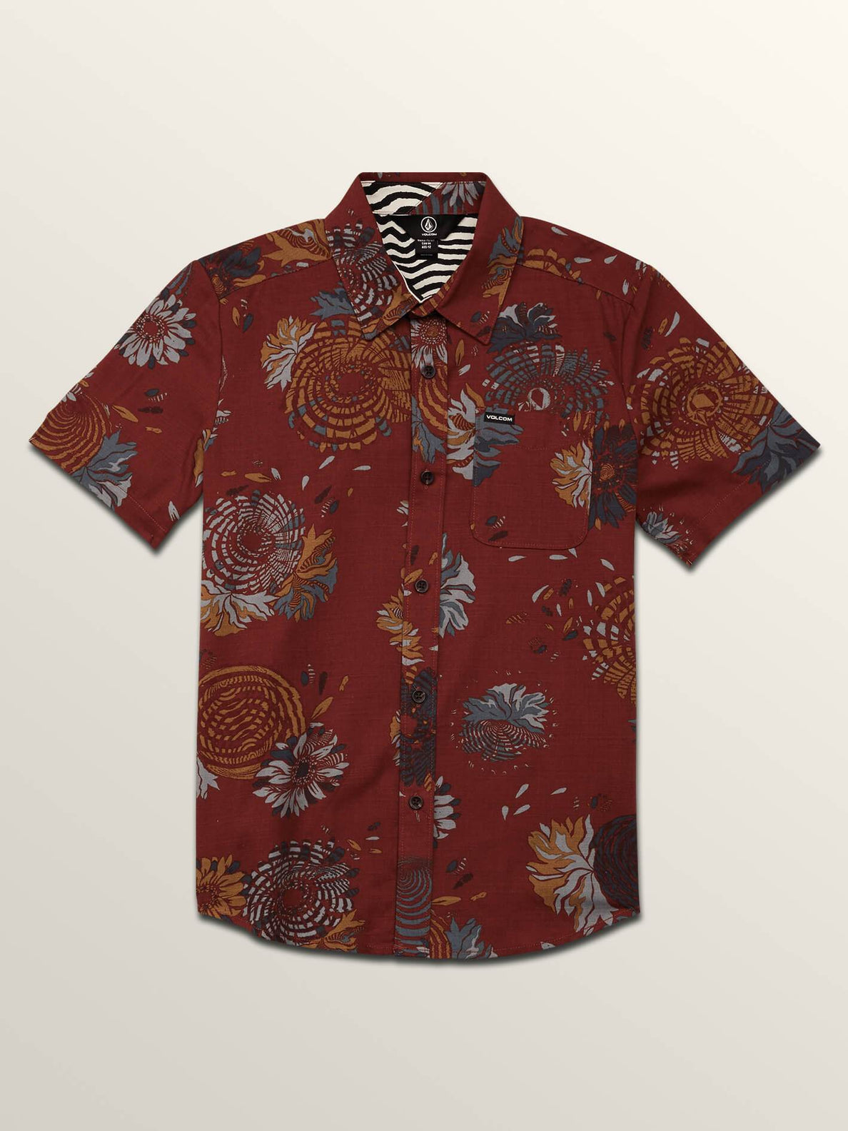 Big Boys Stoney Delusion Short Sleeve Shirt In Cowhide, Front View