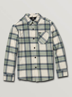 ba5653452 Big Boys Caden Plaid Long Sleeve Flannel - Off White in OFF WHITE - Primary  View