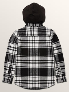 Big Boys Shader Hooded Long Sleeve Shirt