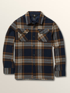 Big Boys Randower Long Sleeve Flannel