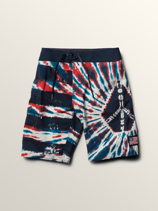 Big Boys Peace Stone Mod Boardshorts