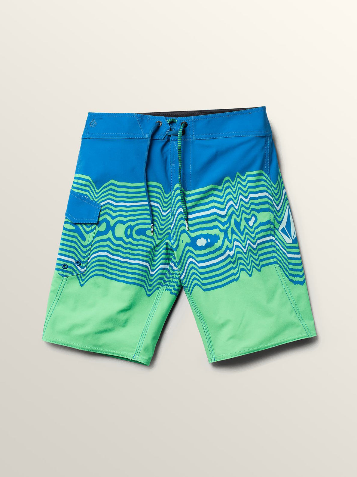 c82ff30bdd57b Big Boys Lido Vibes Mod Boardshorts In Free Blue, ...
