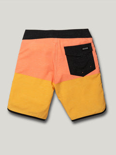 Big Boys Lido Scallop Mod Trunks - Mineral Yellow (C0822015_MYL) [B]