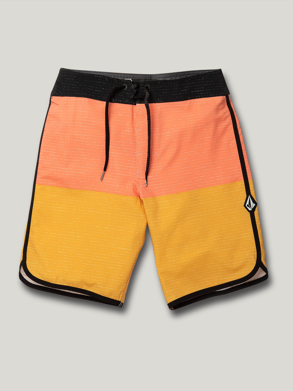 Big Boys Lido Scallop Mod Trunks - Mineral Yellow (C0822015_MYL) [F]