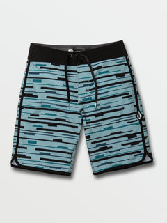 Big Boys Treader Scallop Mod-Tech Trunks - Cool Blue (C0822031_CLU) [F]