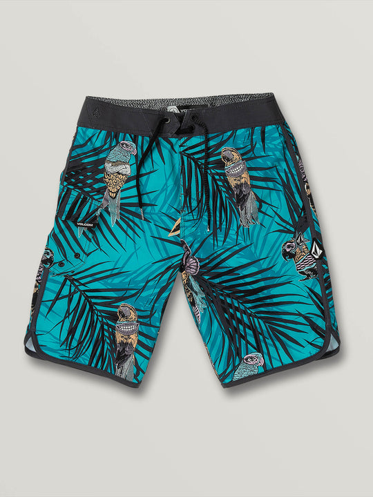 Big Boys Parrot Mod-Tech Trunks - Chlorine (C0831904_CHL) [F]