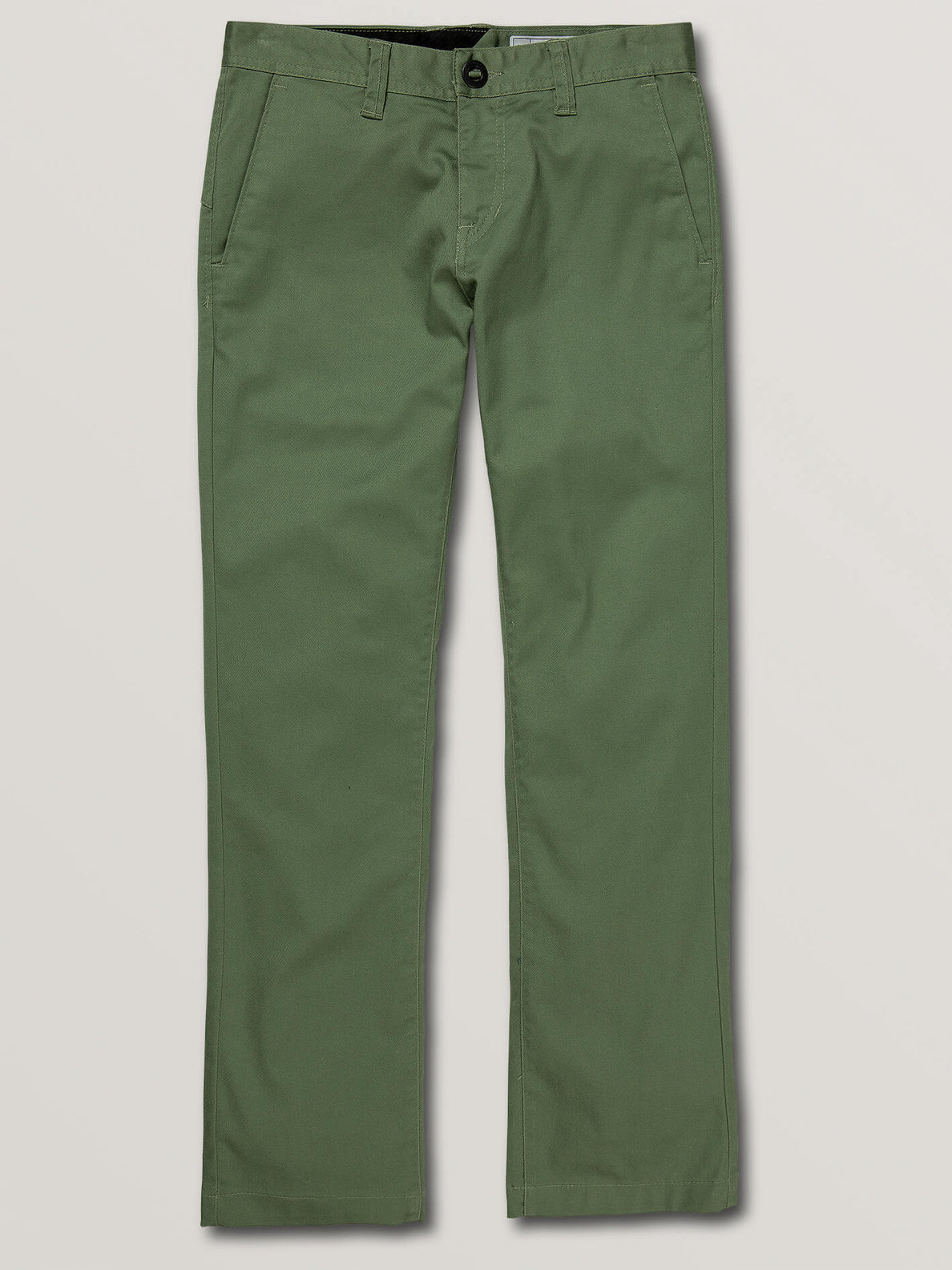 Big Boys Frickin Modern Stretch Chino Pants In Faded Army, Front View