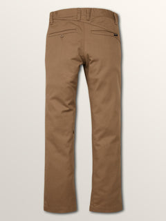 Big Boys Frickin Slim Chino Pants In Beige, Back View
