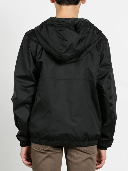 Big Boys Ermont Jacket In Black, Back View