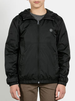 Big Boys Ermont Jacket In Black, Front View