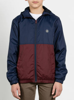 Big Boys Ermont Jacket In Indigo, Front View