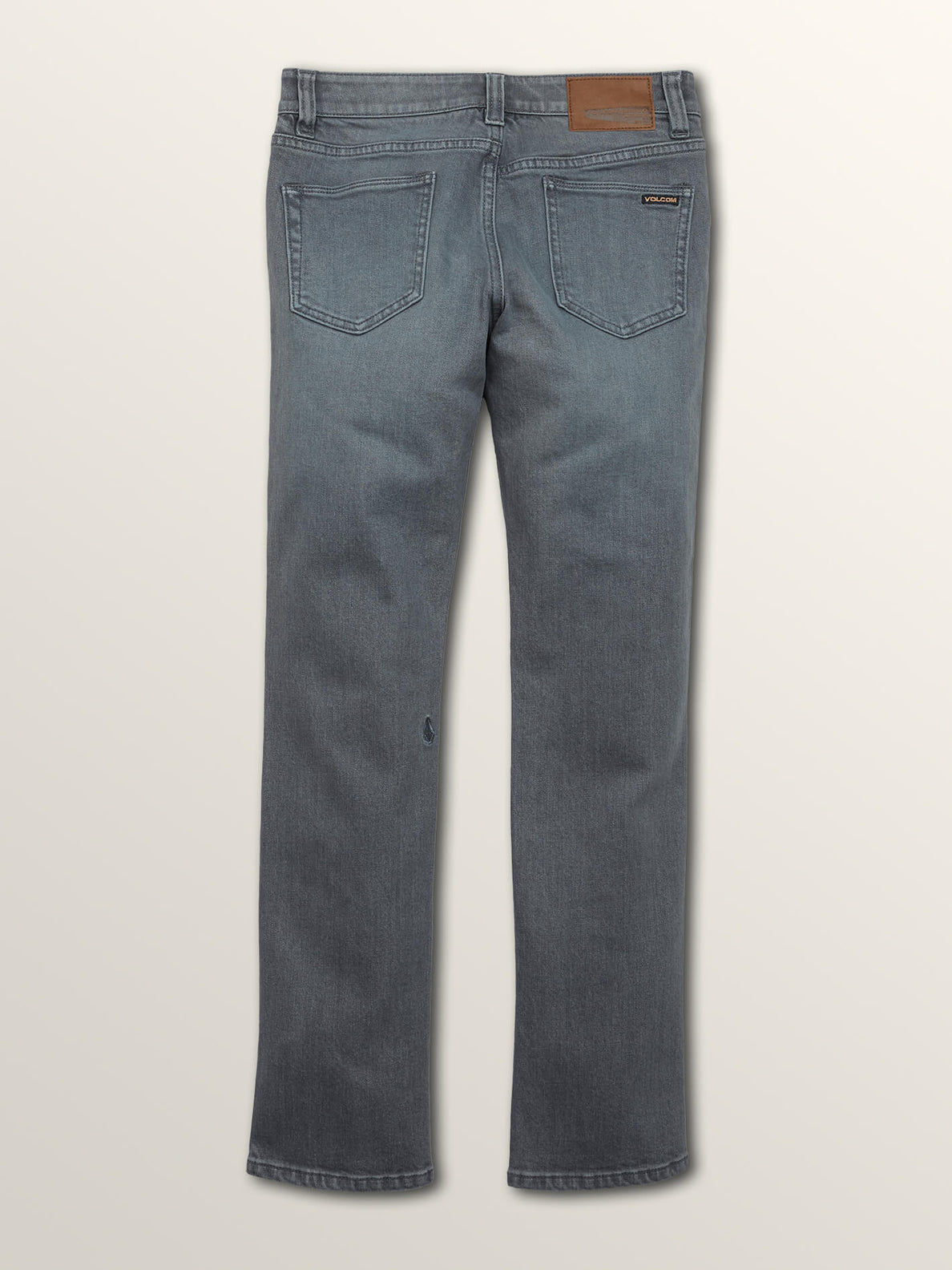 Big Boys 2X4 Skinny Fit Jeans In Grey Vintage, Back View