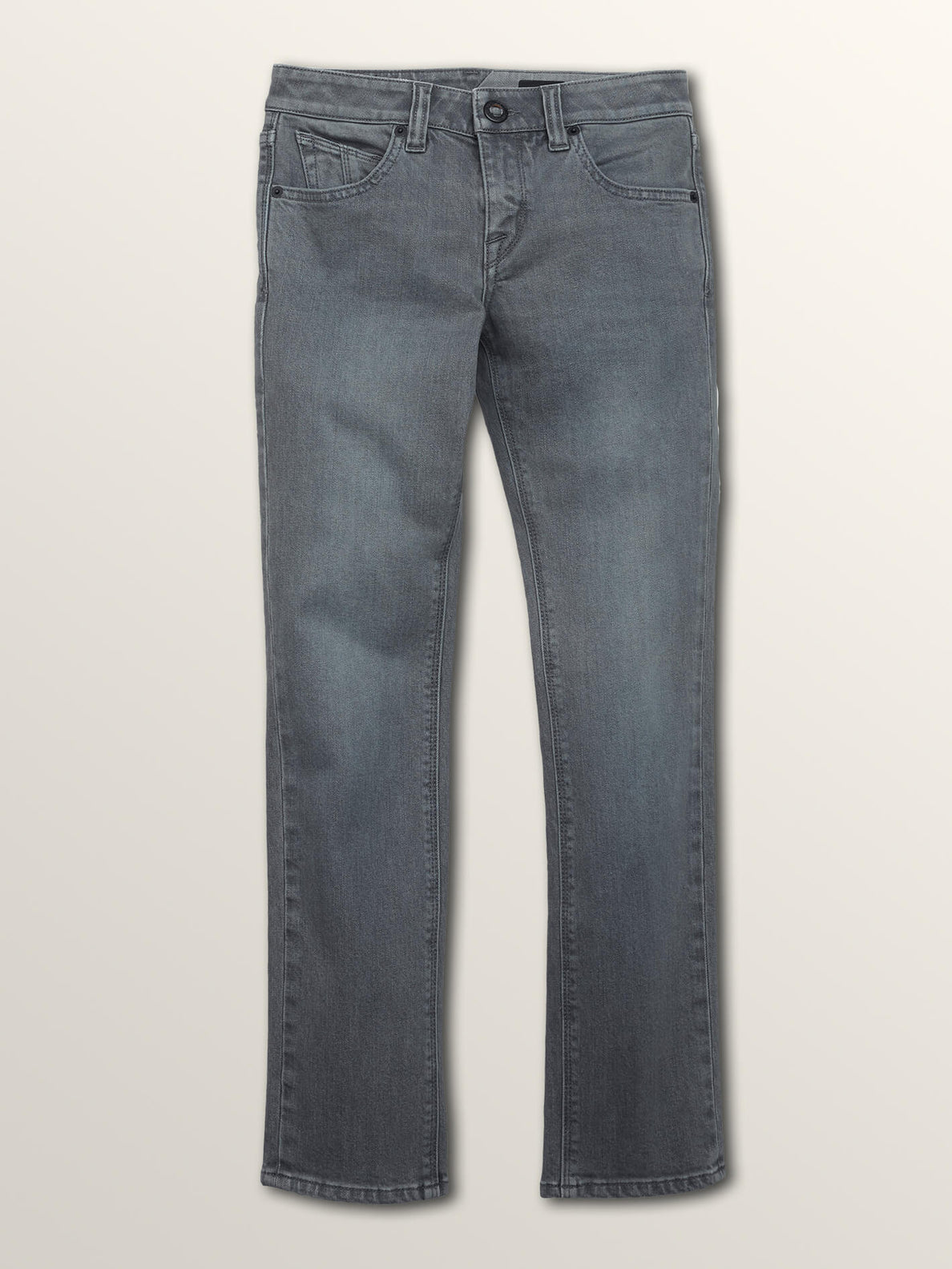 Big Boys 2X4 Skinny Fit Jeans In Grey Vintage, Front View