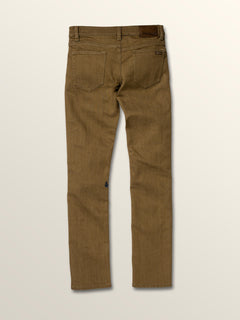 Big Boys 2X4 Skinny Fit Jeans In Wet Sand, Back View