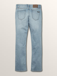 Big Boys Vorta Slim Fit Jeans In Allover Stone Light, Back View