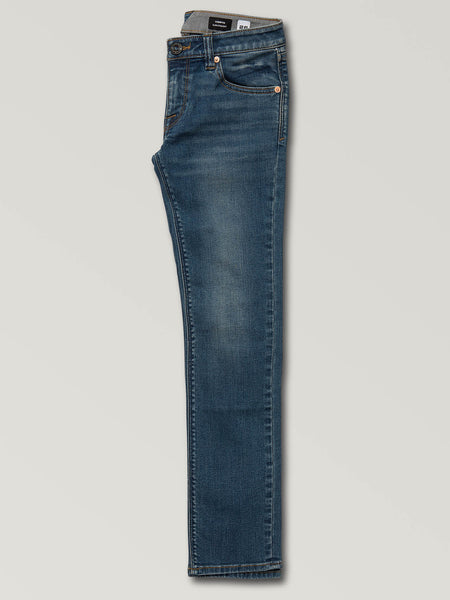 Big Boys Vorta Slim Fit Jeans - Dust Bowl Indigo
