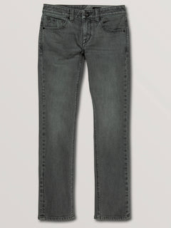 Big Boys Vorta Slim Fit Jeans In Grey Vintage, Front View