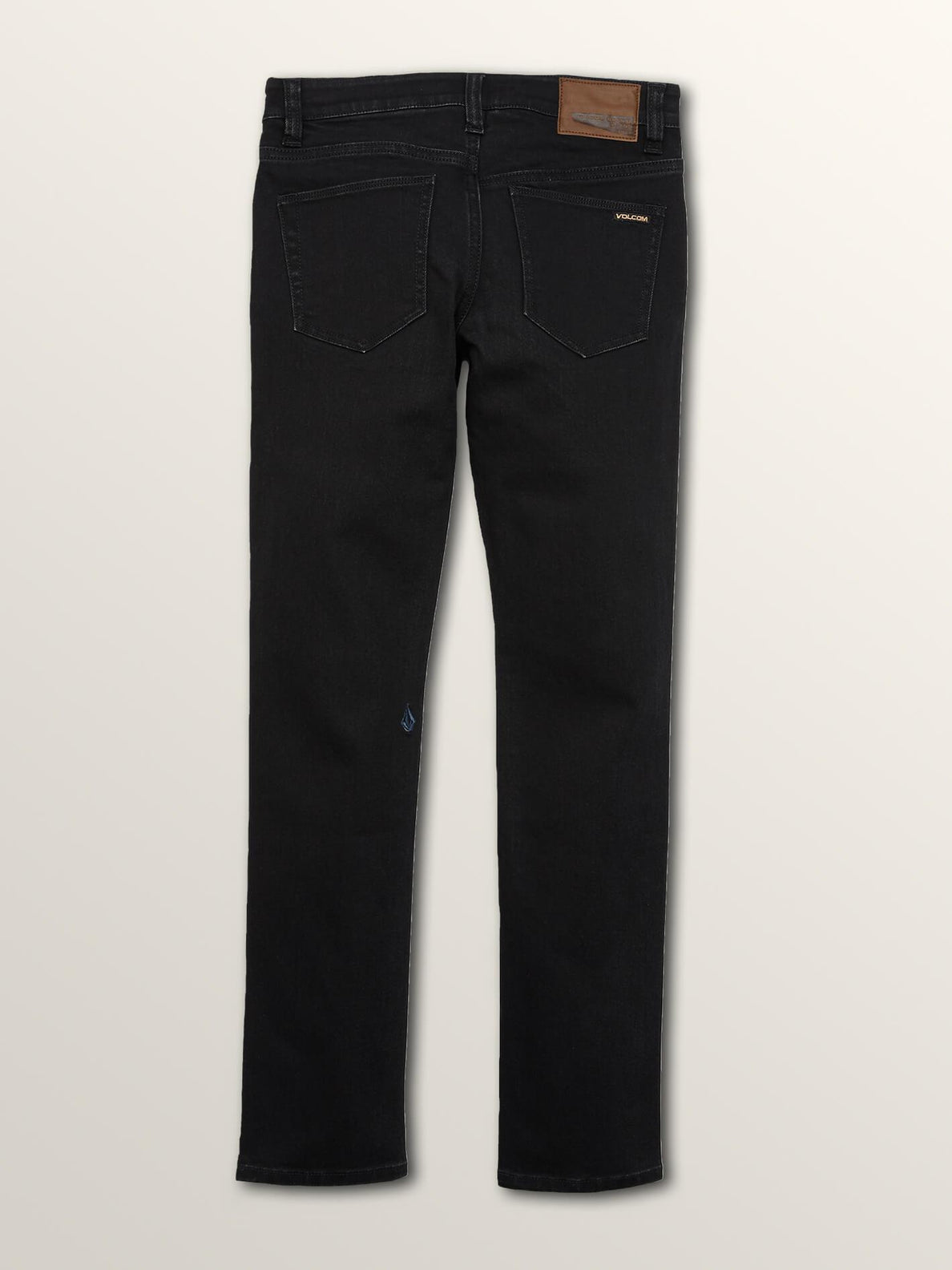 Big Boys Solver Modern Tapered Jeans In Blackout, Back View