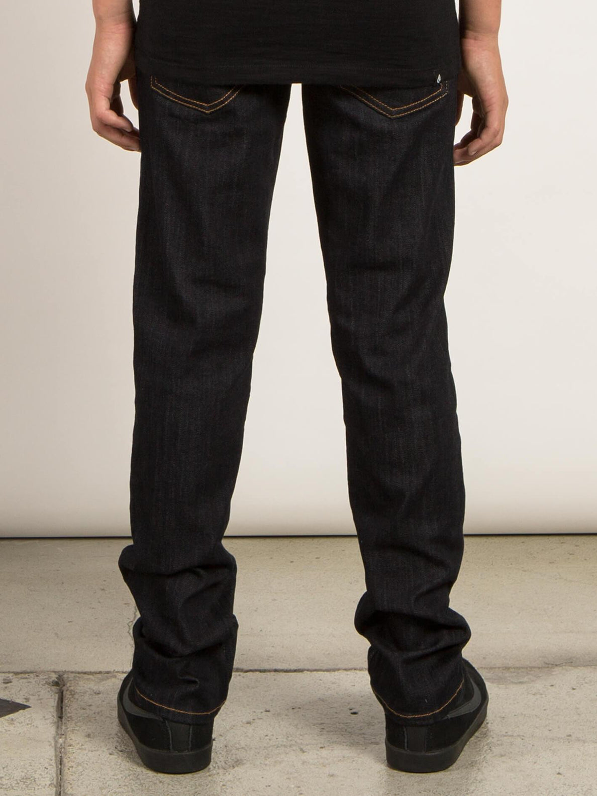 Big Boys Solver Modern Tapered Jeans In Rinse, Back View