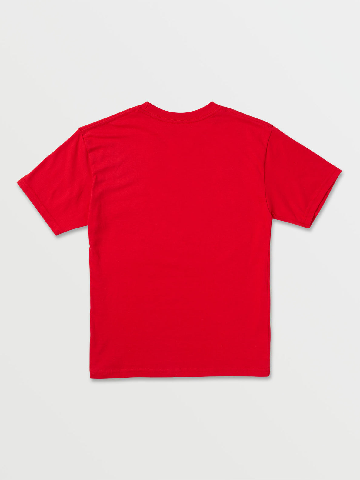 Big Boys Crisp Stone Short Sleeve Tee - Fiery Red (C3511800_FRY) [B]