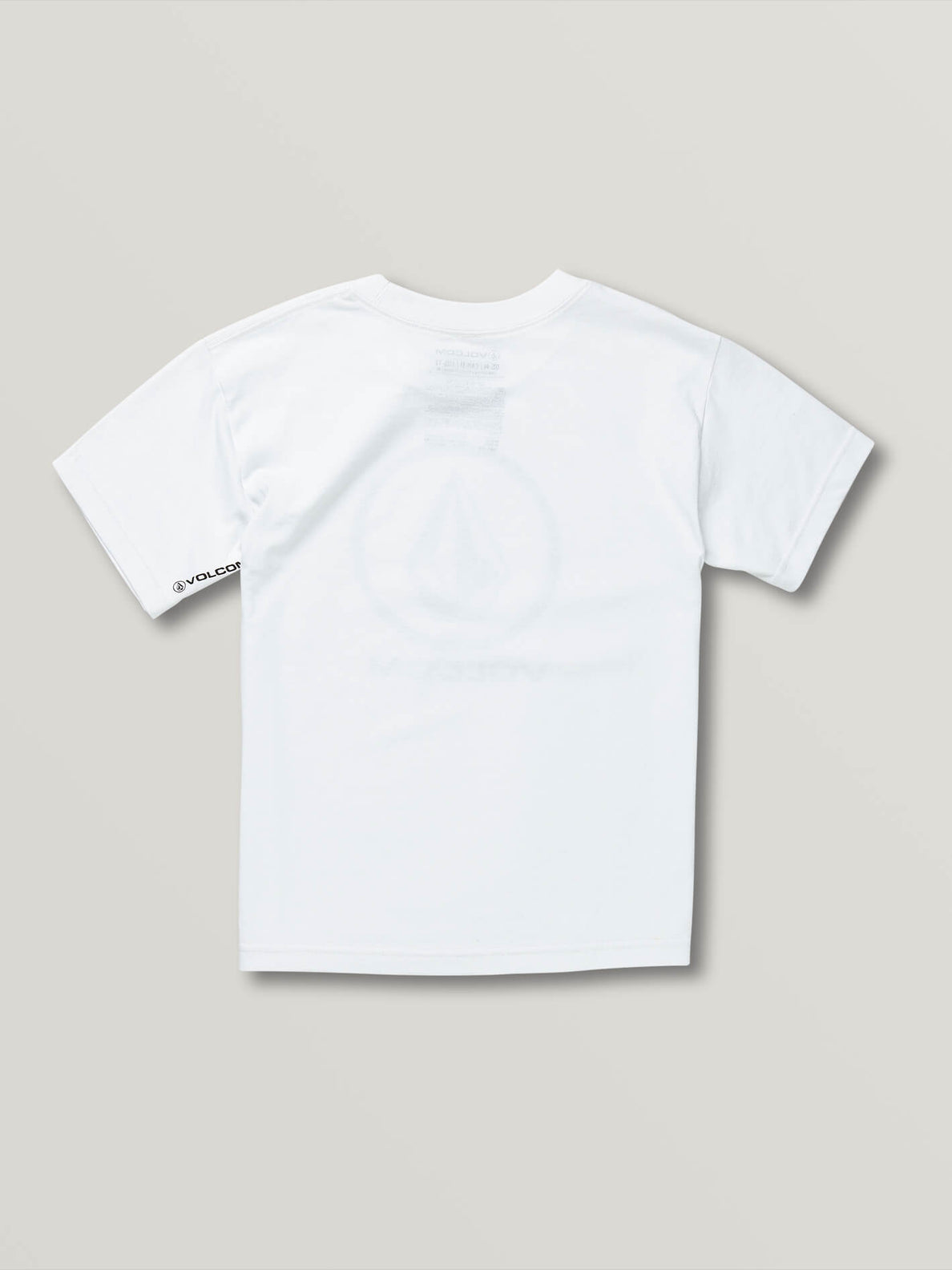 Big Boys Crisp Stone Short Sleeve Tee - White (C3511800_WHT) [B]