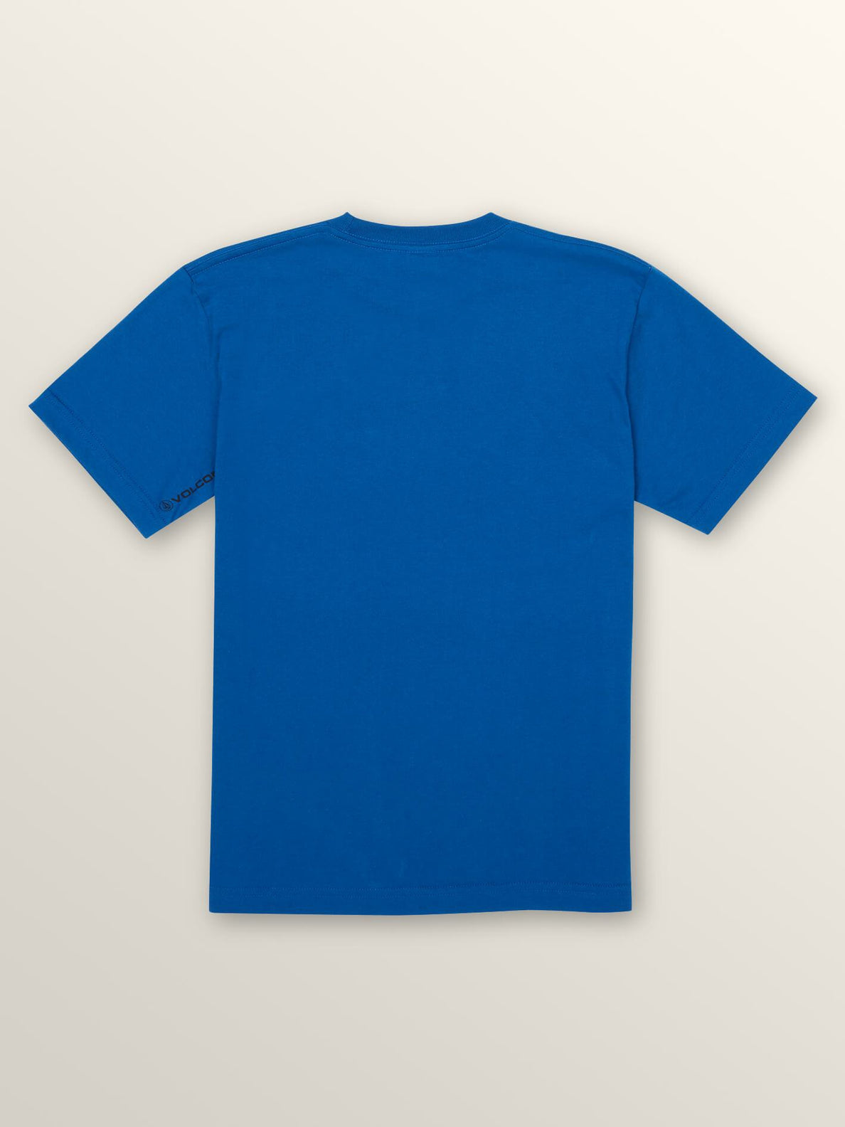 Big Boys Engulf Short Sleeve Tee In Camper Blue, Back View