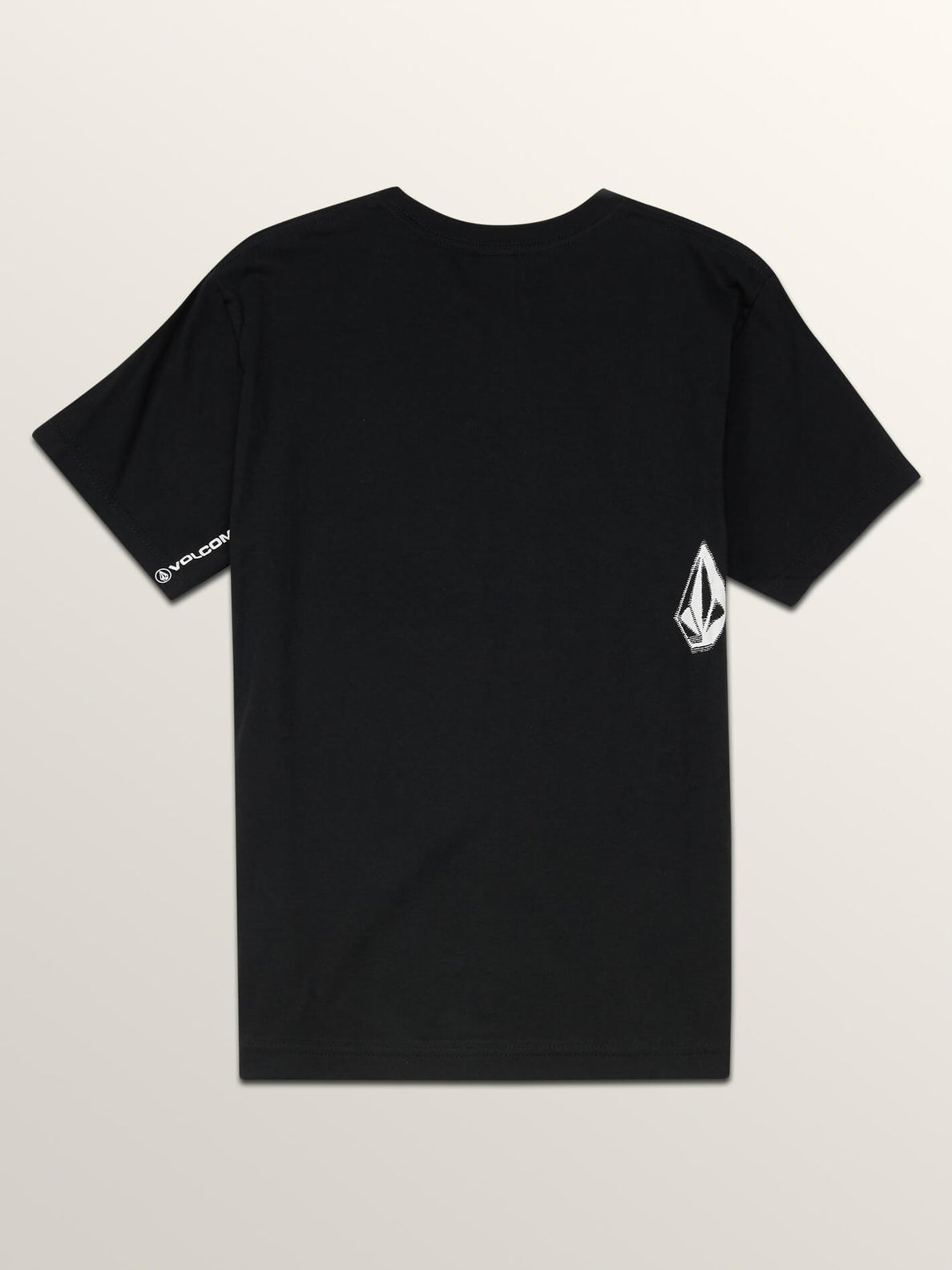 Big Boys The Stranger Short Sleeve Tee In Black, Back View