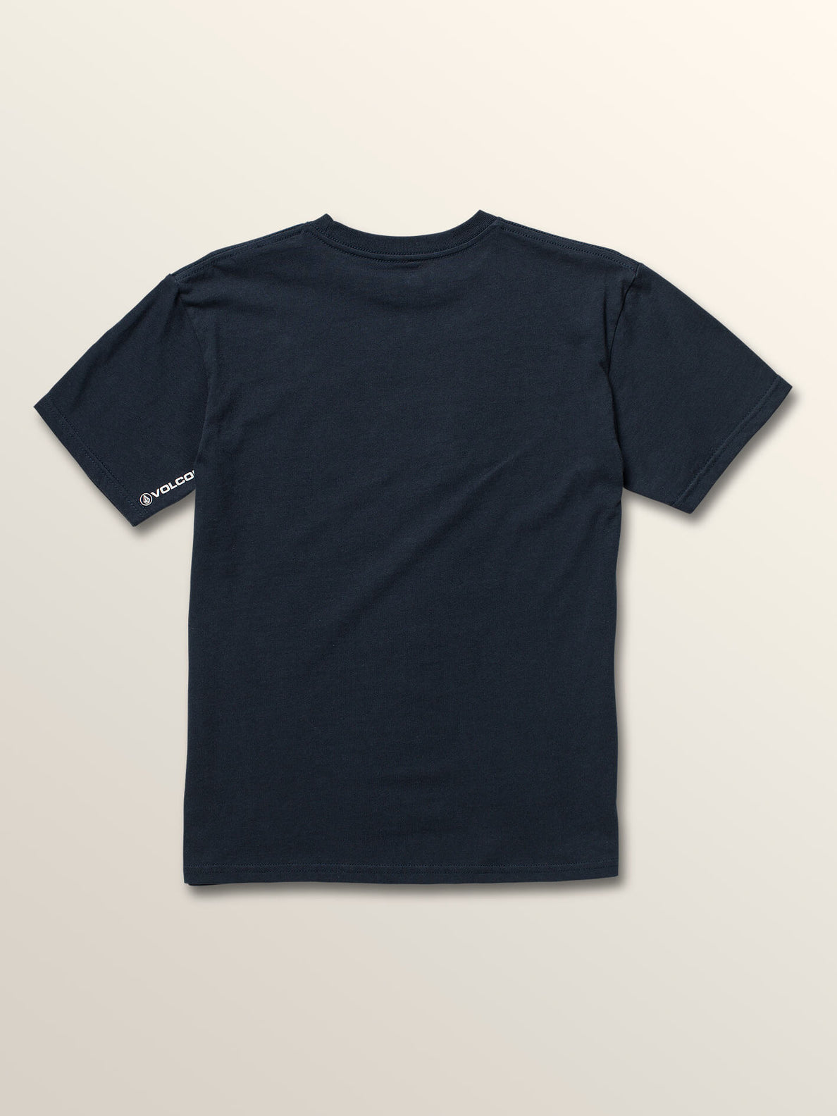 Big Boys Stone Hike Short Sleeve Tee In Navy, Back View