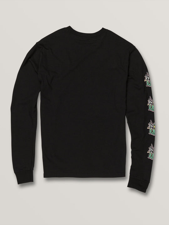 Big Boys Party Bird Long Sleeve - Black (C3631906_BLK) [B]