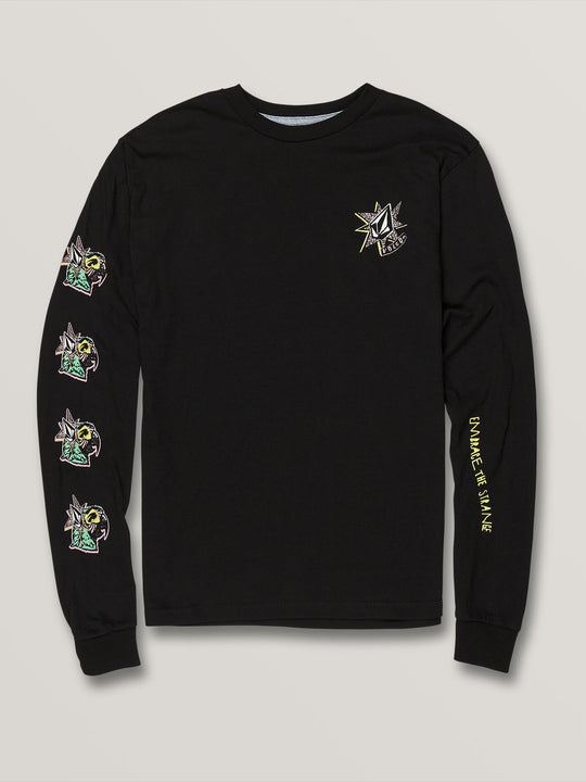 Big Boys Party Bird Long Sleeve - Black (C3631906_BLK) [F]