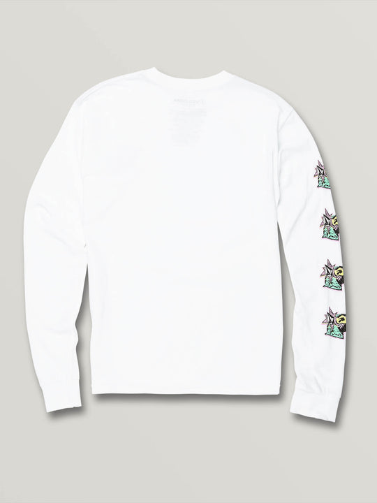 Big Boys Party Bird Long Sleeve - White (C3631906_WHT) [B]