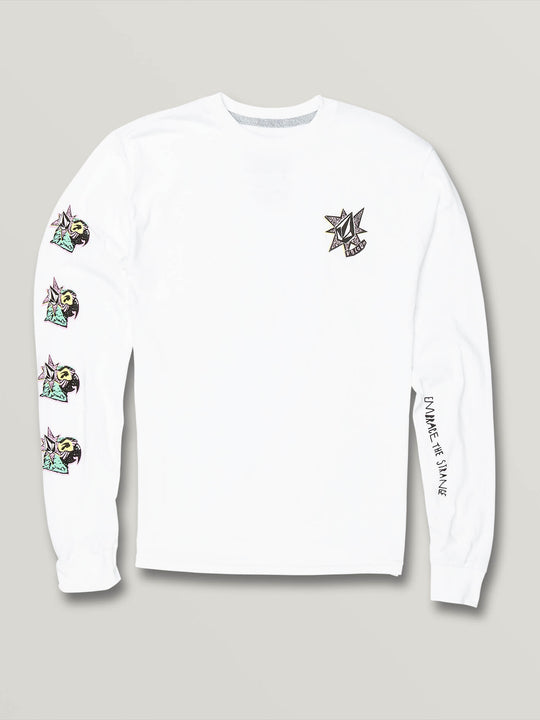 Big Boys Party Bird Long Sleeve - White (C3631906_WHT) [F]