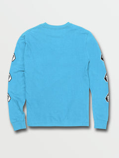 Big Boys Together There Is More Long Sleeve Tee - Aqua (C3632003_AQU) [B]