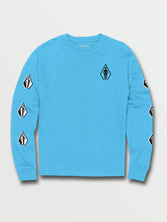 Big Boys Together There Is More Long Sleeve Tee - Aqua (C3632003_AQU) [F]