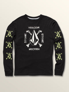 Big Boys Mutiny Stone Long Sleeve Tee
