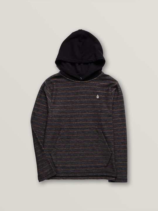 Big Boys Chiller Pullover Hoodie - Asphalt Black