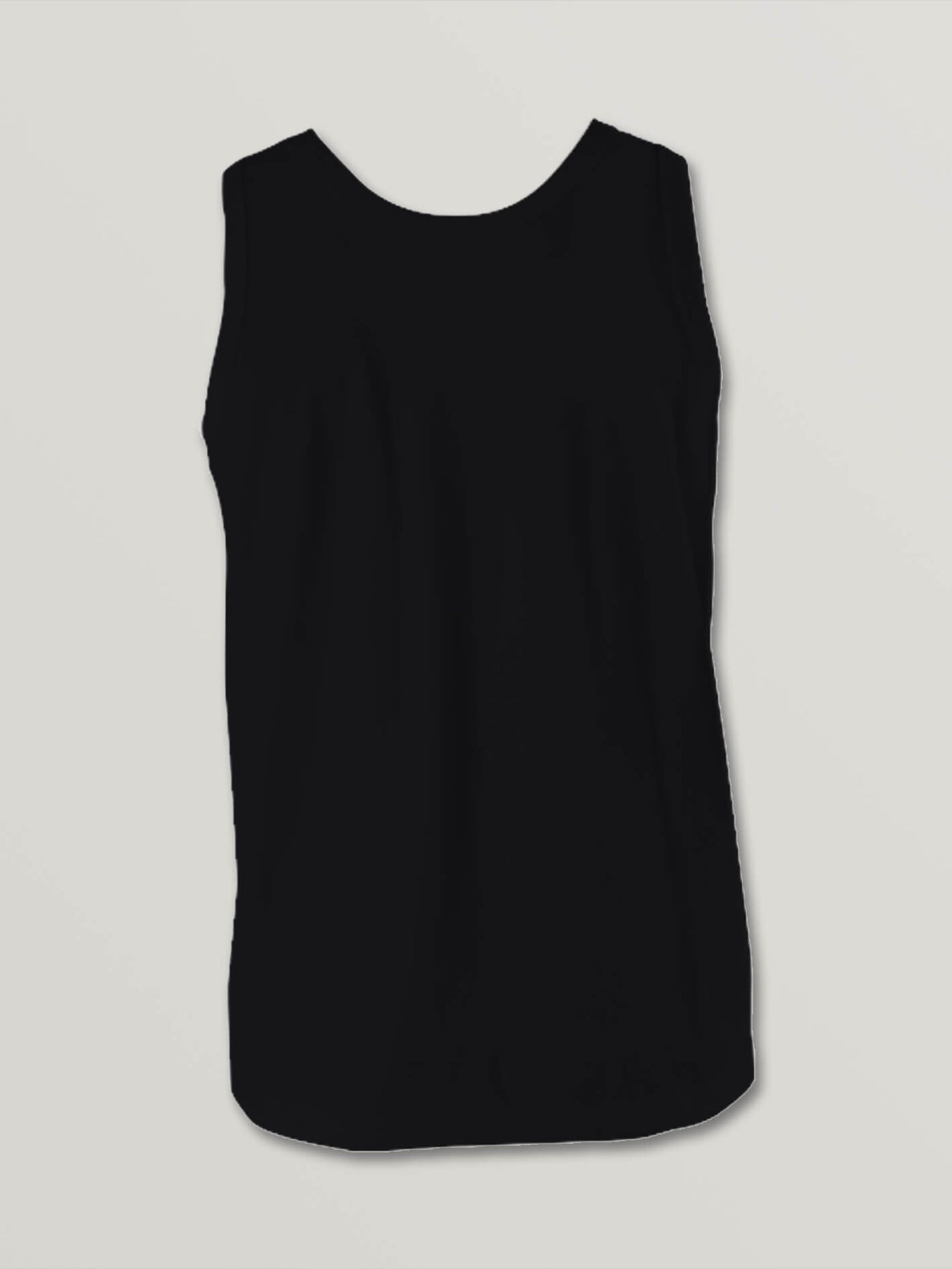 Big Boys Stone Sounds Tank In Black, Back View