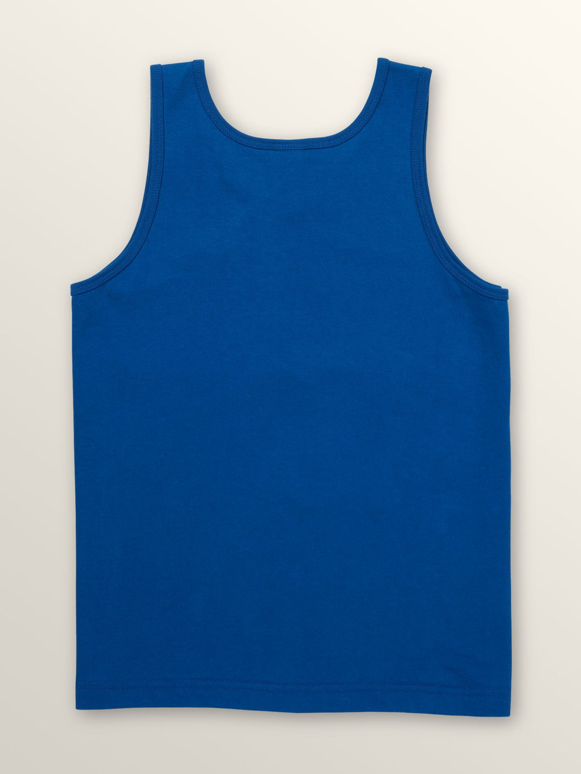 Big Boys Surf Skull Tank In Camper Blue, Back View
